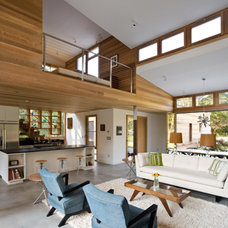 Modern Living Room by BERG DESIGN ARCHITECTURE