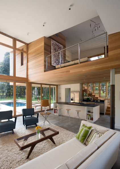 Modern Living Room by John R Berg  AIA  LEED AP