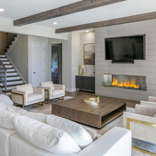 75 Beautiful Modern Living Room Pictures Ideas July 2020 Houzz
