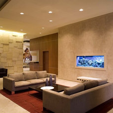 Modern Living Room by Dick Clark + Associates