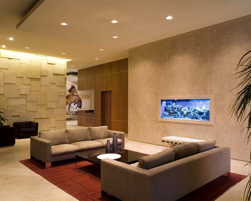 Condo lobby houzz for W living room austin