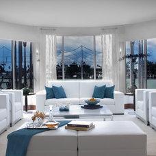 Modern Living Room by DKOR Interiors Inc.- Interior Designers Miami, FL
