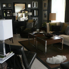 Modern Living Room by FOCAL POINT STYLING