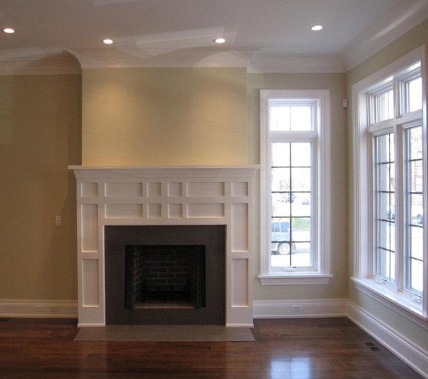 Modern Living Room by Follyn Builders & Developers