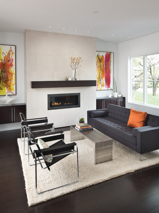Living Room Design Ideas Remodels Photos with Bamboo Floors Houzz