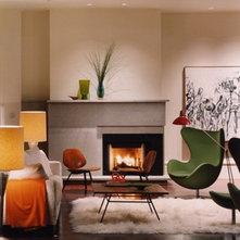 Offset Fireplace Ideas - an Ideabook by grizzlie8