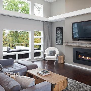 Modern Living Room in North Mankato, MN