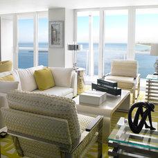 Modern Living Room by Sheryl Bleustein Interiors