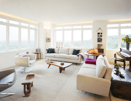 Modern Living Room by Jonathan Cutler, AIA