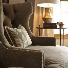 Modern Living Room by McCroskey Interiors