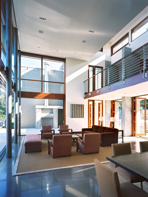 double height living room houzz