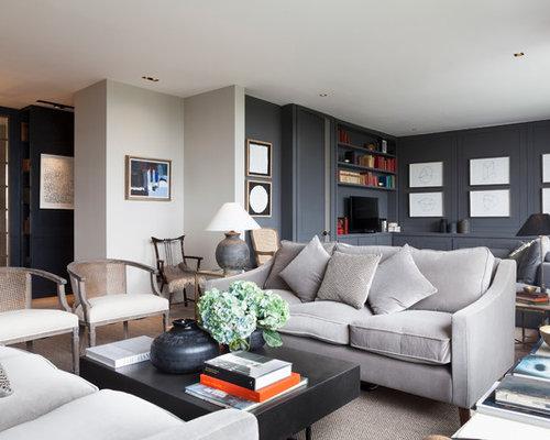 Modern london living room design ideas remodels photos for London living room ideas