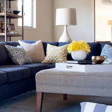 Modern Living Room by Niche Interiors