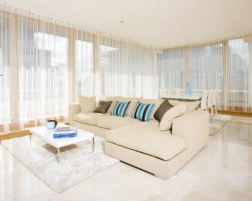Inspiration For A Modern Open Concept Living Room Remodel In Dublin