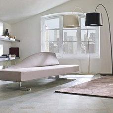 Modern Living Room by Porcelanosa USA