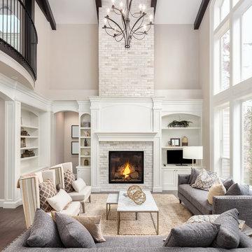 Modern Living Room Renovation