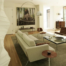 Modern Living Room by skylab architecture