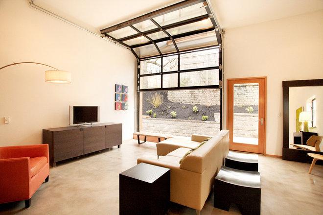 Industrial Living Room Modern Living Room