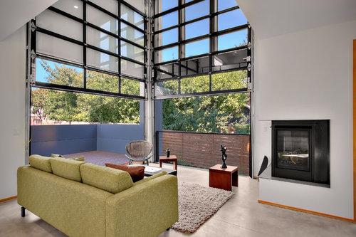 Living Room Garage Doors