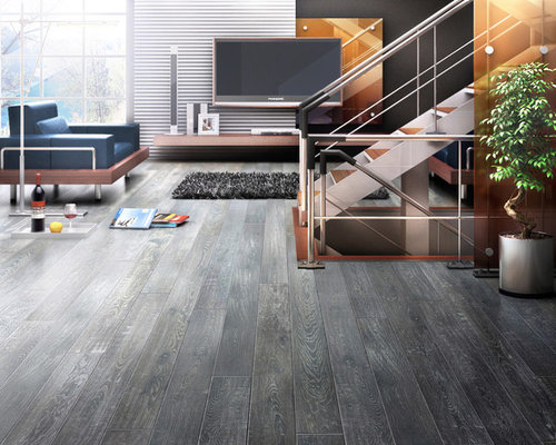 SaveEmail - Gray Wood Floors Houzz