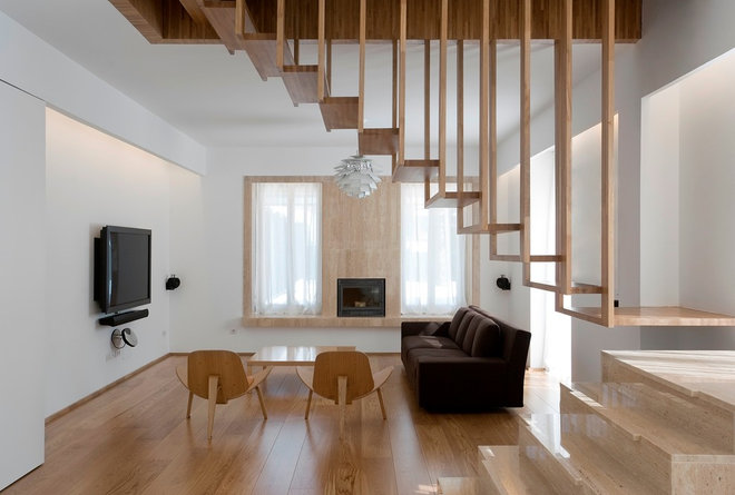 Modern Living Room by William Bosc