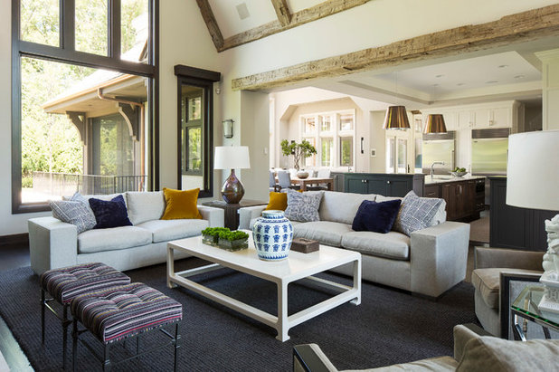 Houzz Tour Reclaimed Wood Warms A Refined New Home