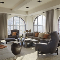 contemporary living room by PURVI PADIA DESIGN