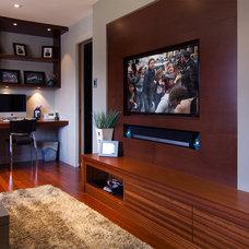 Modern Living Room by Handwerk Interiors