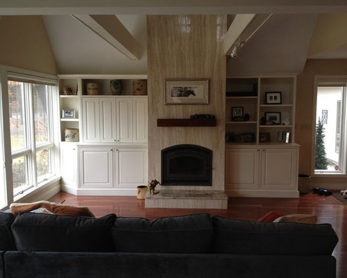 Wood stove insert home design ideas pictures remodel and - Wood stove ideas living rooms ...
