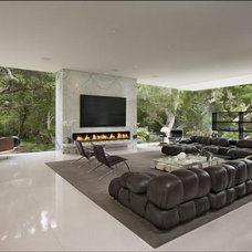 Modern Living Room by LEEN MJ