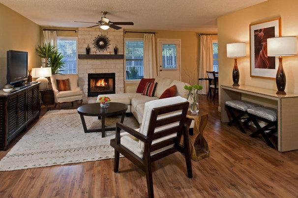 Contemporary Living Room by Christen Ales Interior Design