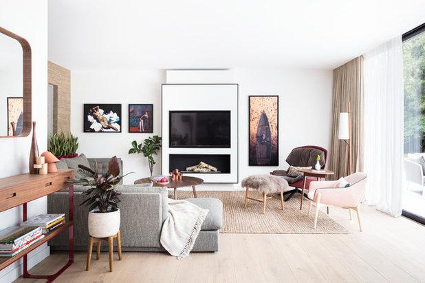 Midcentury Living Room by Black and Milk | Interior Design | London