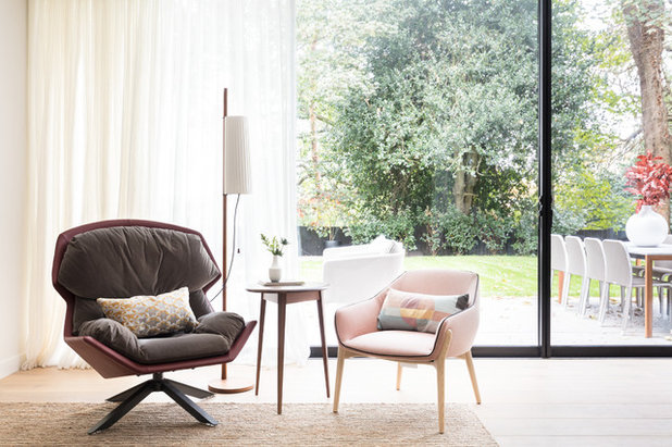 Contemporary Living Room by Black and Milk | Interior Design | London
