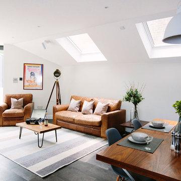 Modern Open Plan Kitchen/Living/Dining Room