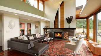Modern Portland New Construction  - Living Room