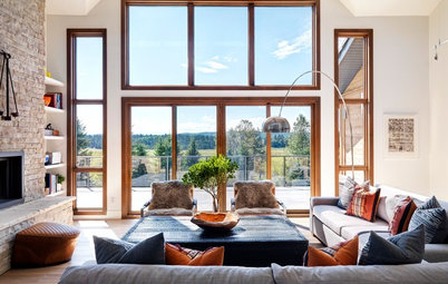 Houzz Tour: A Modern Ranch Shines in the Alberta Foothills