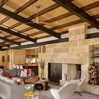 Modern ranch contemporary sunroom houston by poet - Ranch americain poet interiors houston ...