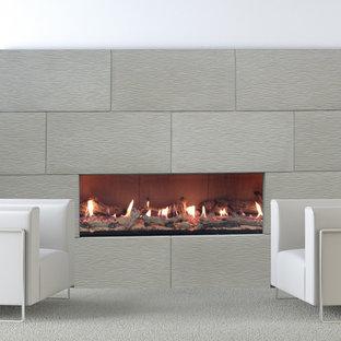 Modern  Reflections Fireplace Mantel Styles