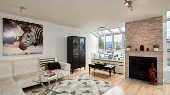 Modern refreshed living room