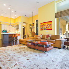 Contemporary Living Room by Summerhill Developers