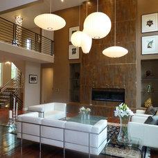 Modern Living Room by RE.DZINE