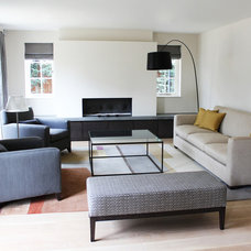 Contemporary Living Room by Eve Waldron Design