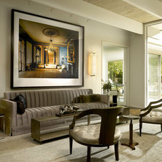Contemporary Living Room by Scott Simpson Builders