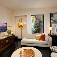 Eclectic Living Room by Maienza - Wilson Interior Design + Architecture
