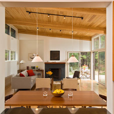 Modern Living Room by Hammer Architects