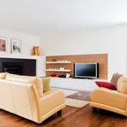 Living Room Modern Living Room Edmonton By Habitat