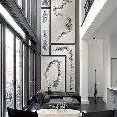 Contemporary Living Room by LUKAS MACHNIK INTERIOR DESIGN