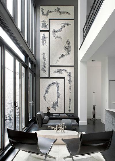 10 astuces pour optimiser une grande hauteur sous plafond for Salon 3m de large
