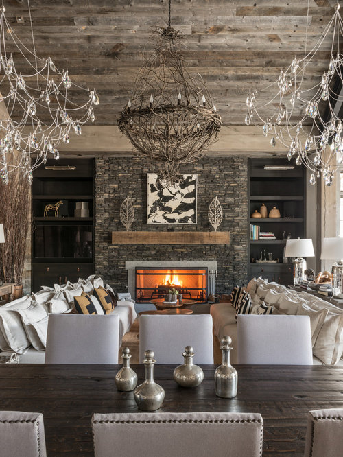 rustic living room ideas. Inspiration for a rustic living room remodel in San Diego with standard  fireplace Best 30 Rustic Living Room Ideas Remodeling Photos Houzz