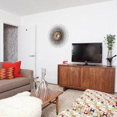 modern living room by Regan Baker Design